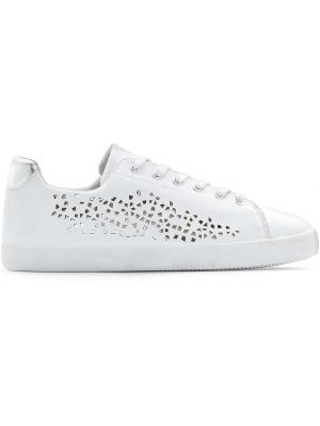 Белые кроссовки с перфорацией Castaluna