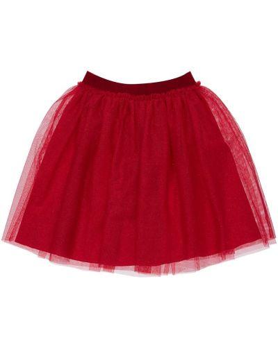 Красная юбка из фатина на резинке Il Gufo