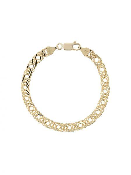 Bransoletka ze złota łańcuch ze srebra Rachel Jackson