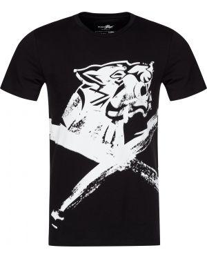 Хлопковая футболка - черная Plein Sport