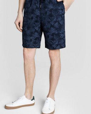 Синие повседневные шорты O'stin