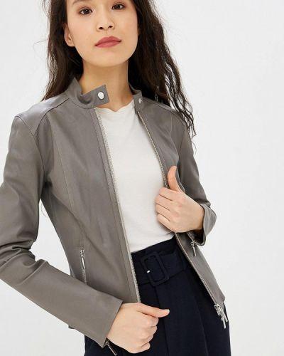 Кожаная куртка - серая Arma