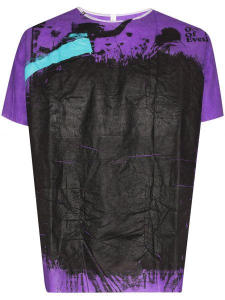 Koszula fioletowy karmazynowy Raf Simons
