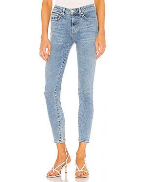 Хлопковые джинсы с карманами на пуговицах Lovers + Friends