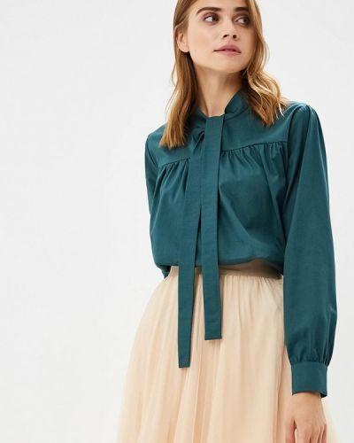 Блузка зеленый Burlo