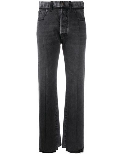Прямые серые джинсы классические с карманами Maison Margiela