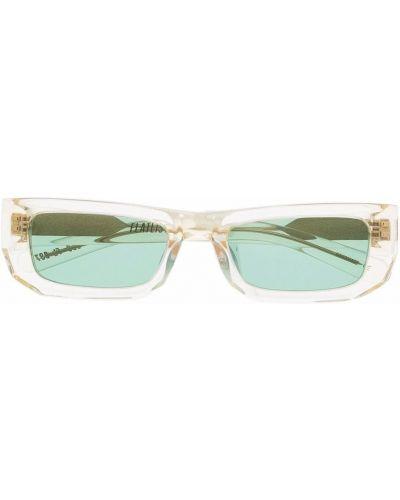 Żółte złote okulary Flatlist