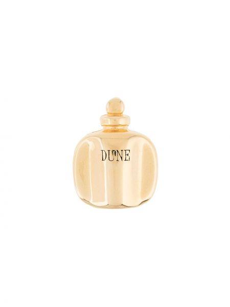 Broszka ze złota z kwiatowym nadrukiem Christian Dior Pre-owned