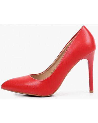 Кожаные красные туфли-лодочки Diora.rim