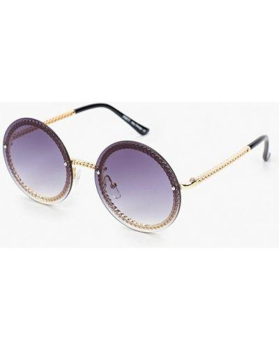 Солнцезащитные очки - серые Fabretti