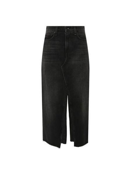 Юбка миди джинсовая с вырезом Rag&bone