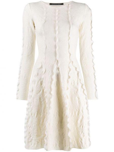 Платье макси длинное - белое Antonino Valenti