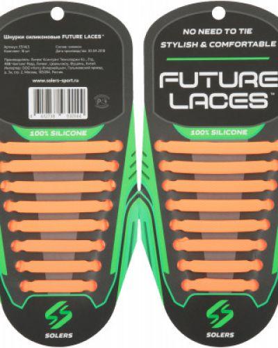 Шнурки силиконовые эластичный Solers