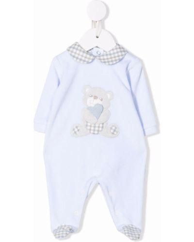 Niebieska piżama bawełniana Colorichiari