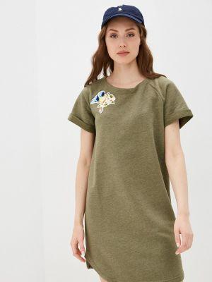 Зеленое платье D.s