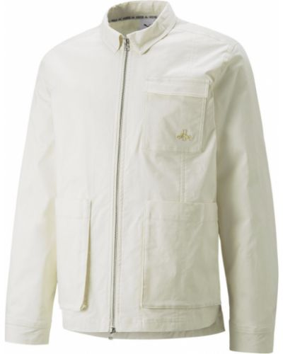 Куртка с накладными карманами - синяя Puma