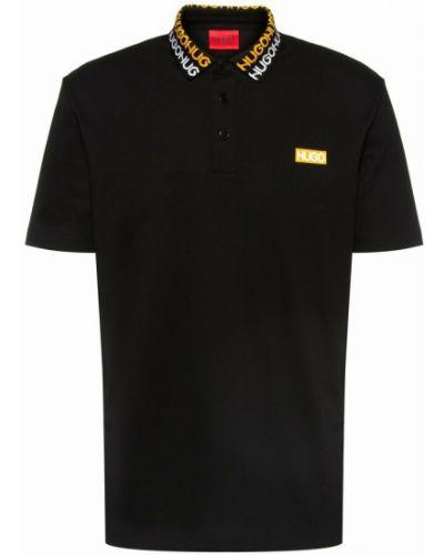 Czarna koszulka Hugo Boss