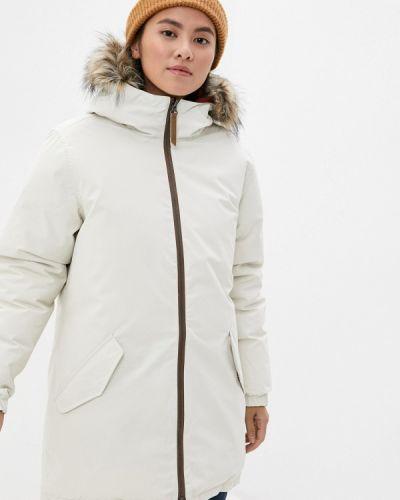 Теплая белая куртка Icepeak