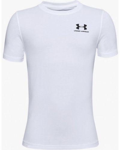 Белая спортивная футболка Under Armour