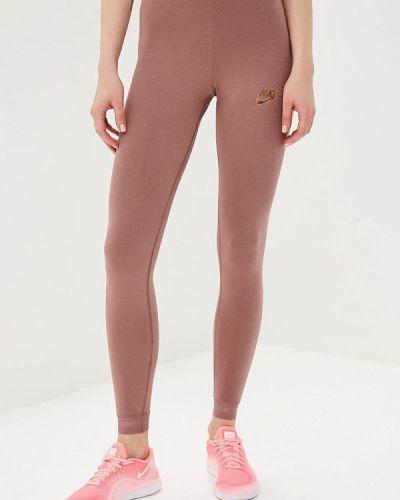 Розовые леггинсы Nike