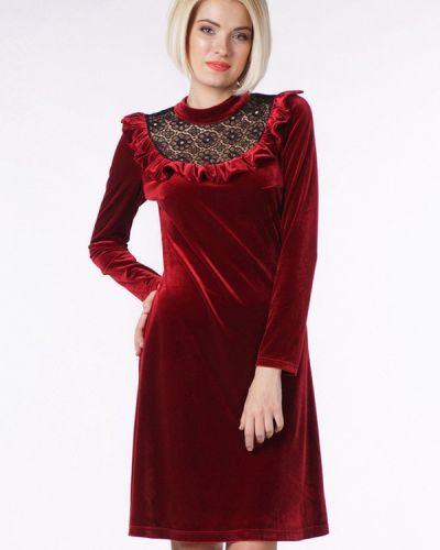 Вечернее платье - бордовое Oks By Oksana Demchenko