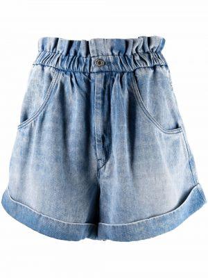 Синие джинсовые шорты Isabel Marant étoile