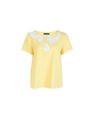 Блузка желтый Boutique Moschino