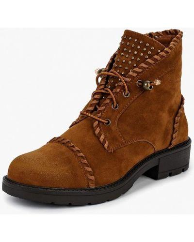 Ботинки на каблуке осенние замшевые Style Shoes