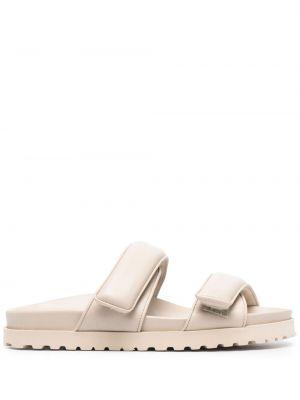 Кожаные сандалии - бежевые Gia Couture