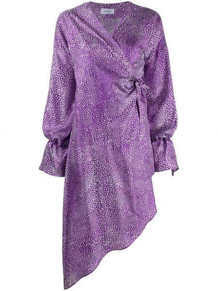 Платье в горошек с запахом Art Dealer.