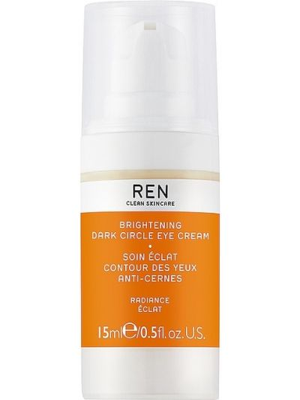 Деловой кожаный бежевый крем для век Ren Clean Skincare