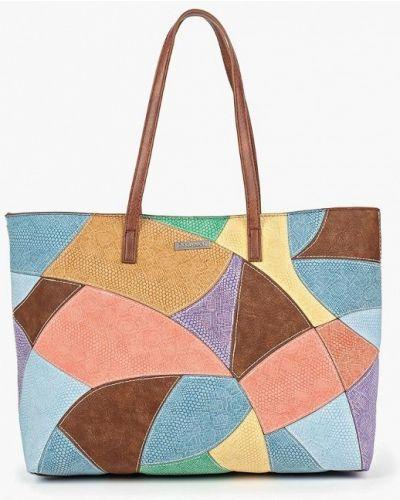 Кожаный сумка шоппер Desigual