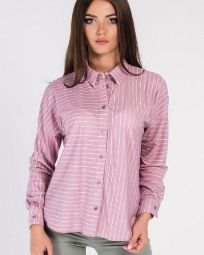 Розовая рубашка Carica&x-woyz