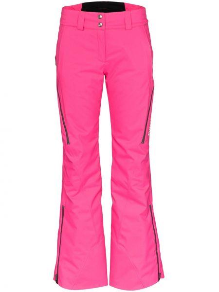 Расклешенные розовые брюки Colmar
