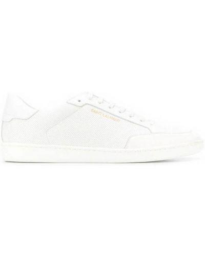 Białe sneakersy Saint Laurent