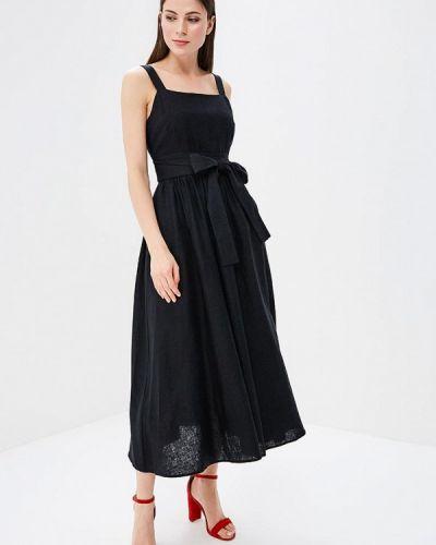 Черный сарафан Baon