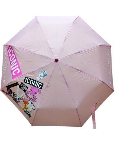 Różowy parasol Happiness