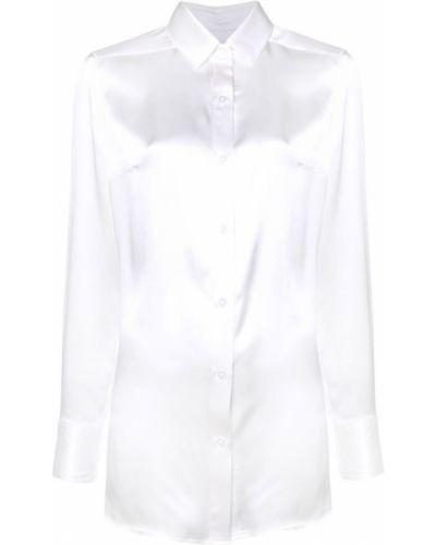 Туника с вышивкой белая Dresshirt