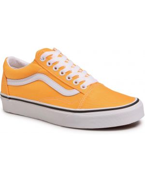 Pomarańczowe tenisówki Vans