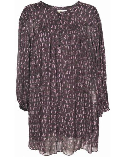 Fioletowa sukienka Isabel Marant