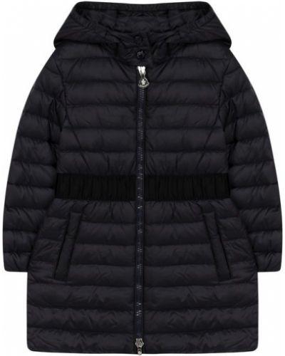 Пальто с капюшоном стеганое пальто Moncler Enfant