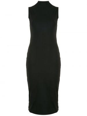 Платье с воротником - черное Osklen