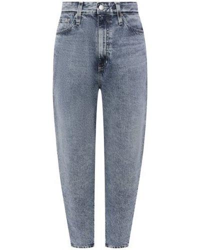 Голубые джинсы с завышенной талией Ag