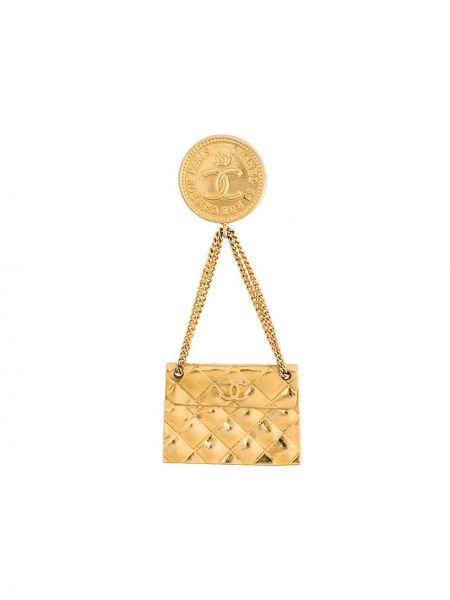 Broszka na łańcuchu Chanel Pre-owned