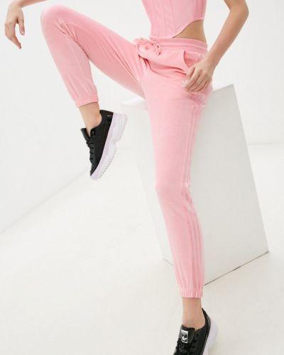 Розовые спортивные брюки Adidas Originals