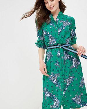 Зеленое платье O'stin