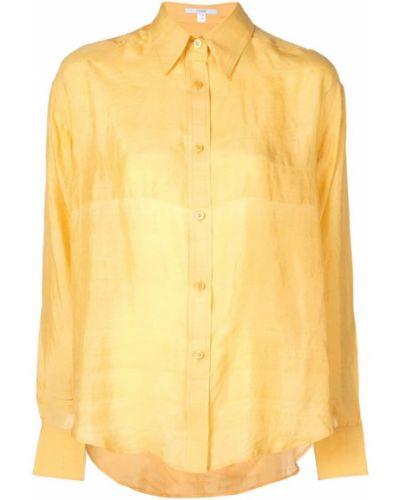 Классическая классическая рубашка золотая на пуговицах Tome