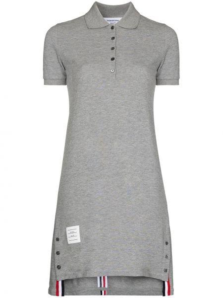 Sukienka mini bawełniana Thom Browne