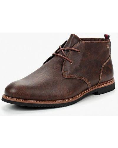 Кожаные ботинки осенние высокие Timberland