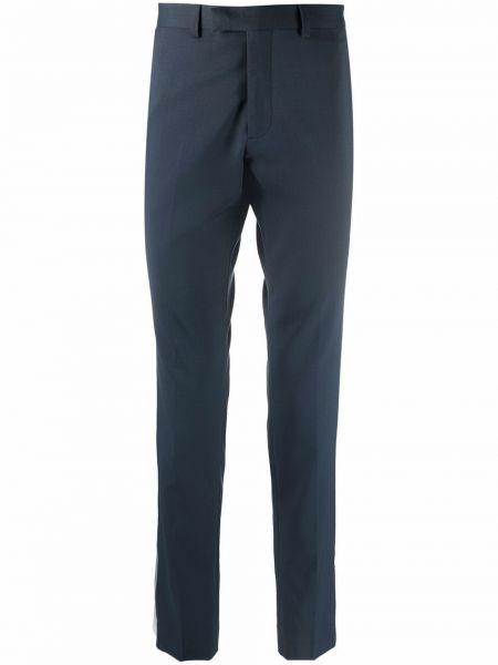 Niebieskie spodnie bawełniane Sandro Paris